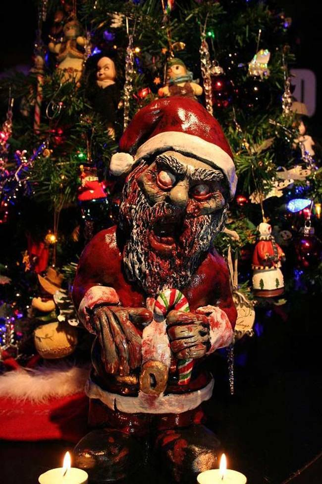 Well hello, zombie Santa Claus, and welcome to my nightmares.