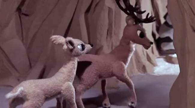 Rudolph's Father Shows His True Colors. (<i>Rudolph the Red-Nosed Reindeer</i>).