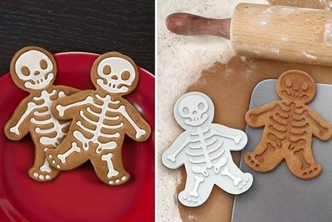 X-ray gingerbread cookies.