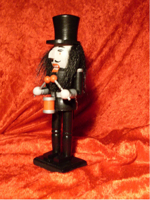 The nutcracker who is super into death metal.