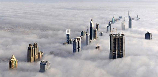 Dubai gets high.