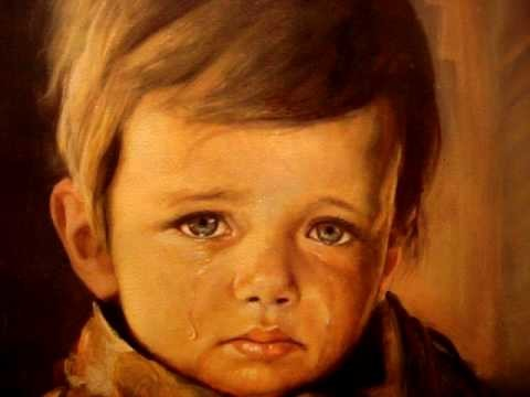 The Crying Boy Painting.