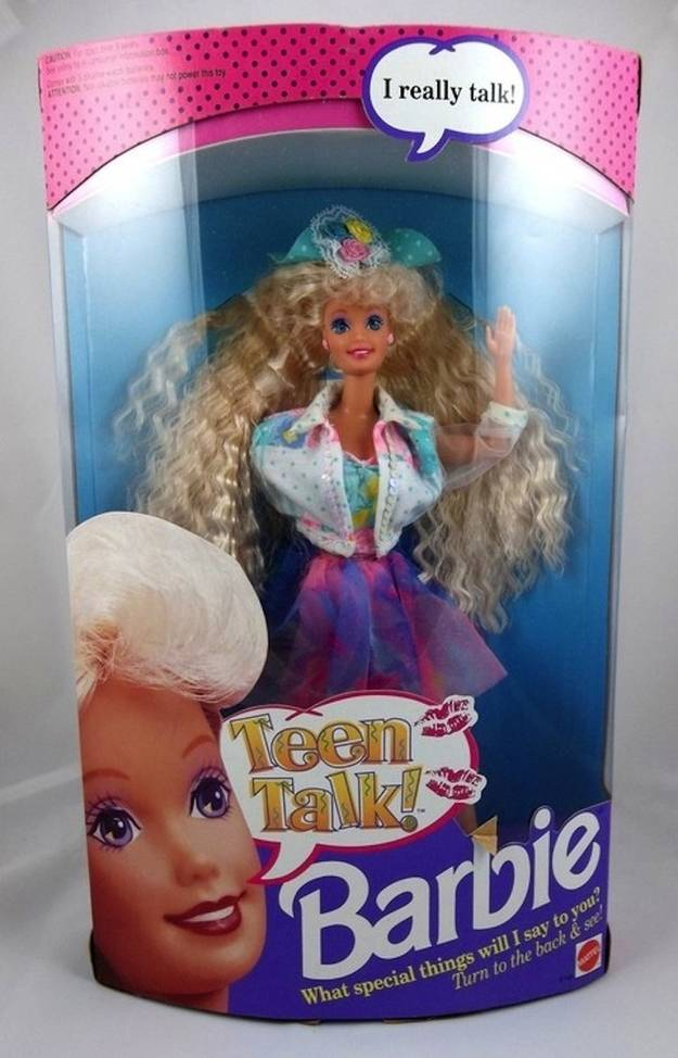 1992 - Teen Talk Barbie