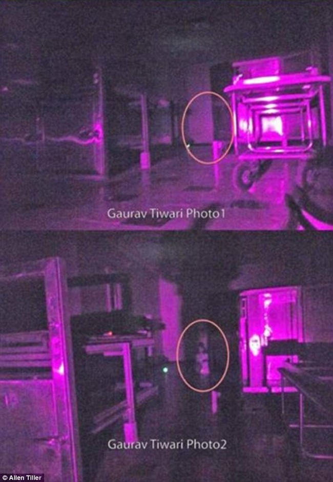 "These two photos were captured inside the Beechworth Lunatic Asylum by Gaurav Tiwari, founder of the <a href=""https://www.indianparanormalsociety.com/"" target=""_blank"">Indian Paranormal Team</a> and a member of Tiller's crew."